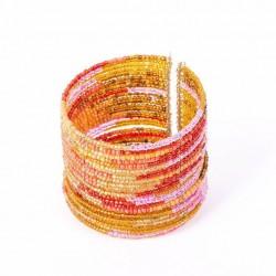 Спираль оранжевая широкая