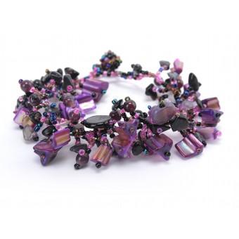 Объемный фиолетовый коралл - 0