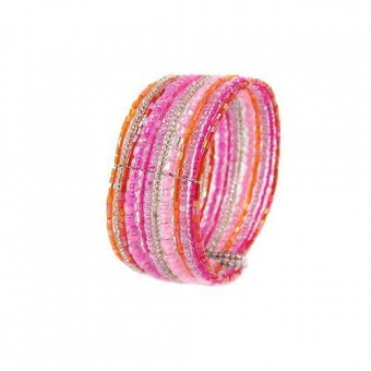 Спираль цветная розовая - 0