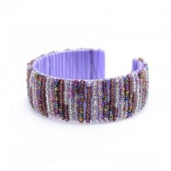Каркасный фиолетовый в полоску