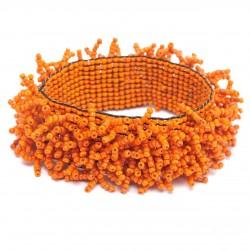 Коралл на резинке оранжевый