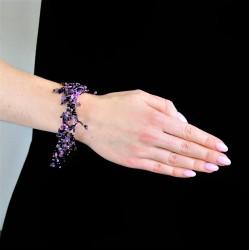 Пушистый фиолетовый коралл