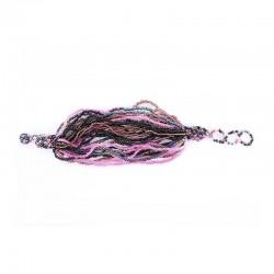 Разноцветные фиолетовые нити