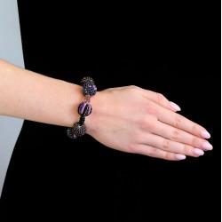 Шарики фиолетовые большие