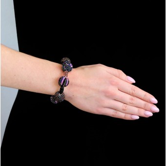Шарики фиолетовые большие - 0