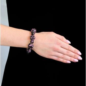 Шарики фиолетовые большие и маленькие - 0