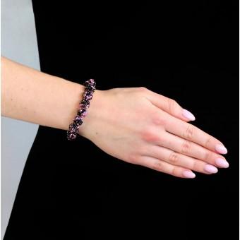 Шарики фиолетовый микс меланж маленькие - 0