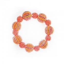 Шарики оранжевые большие и маленькие