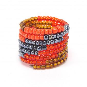 Спираль градиент красный mix - 0