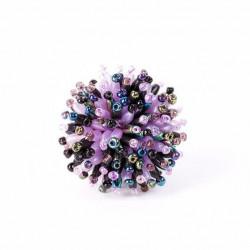 Пушистый коралл фиолетовый микс