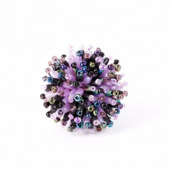 Пушистый коралл фиолетовый микс - 0