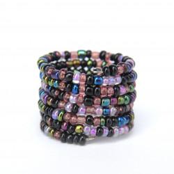 Спираль меланж фиолетовый mix