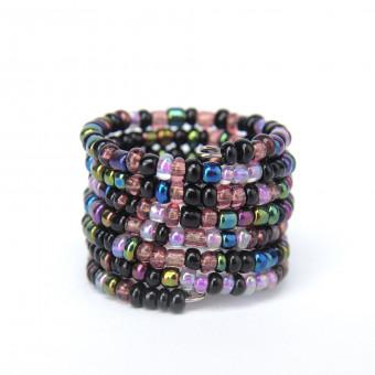 Спираль меланж фиолетовый mix - 0