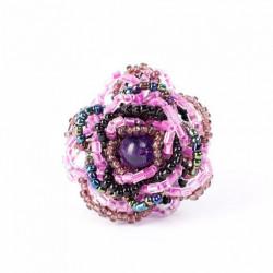 Роза маленькая фиолетовая