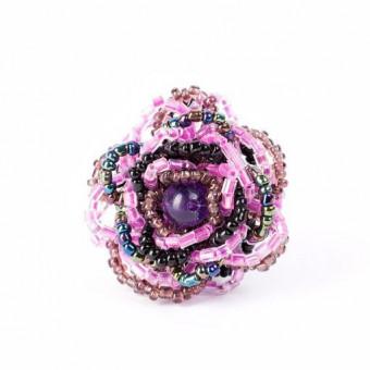 Роза маленькая фиолетовая - 0