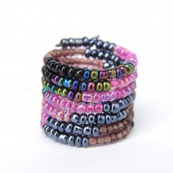 Спираль градиент фиолетовый mix