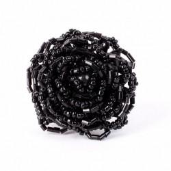 Роза большая черная