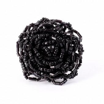 Роза большая черная - 0