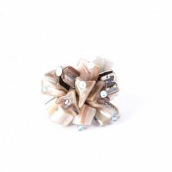 Перламутровые кубики бирюзовые