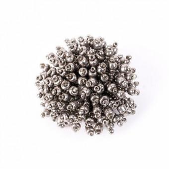 Большой пушистый коралл металлик - 0
