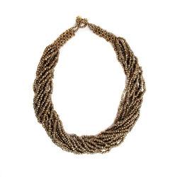 Круглое 15 бронзовых крупных нитей