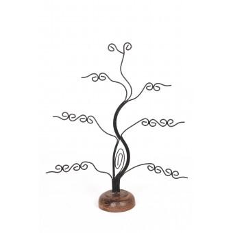 Дерево маленькое с завитком темное - 0