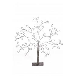 Дерево маленькое серебряное листики