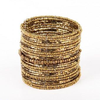 Спираль бронзовая широкая - 0
